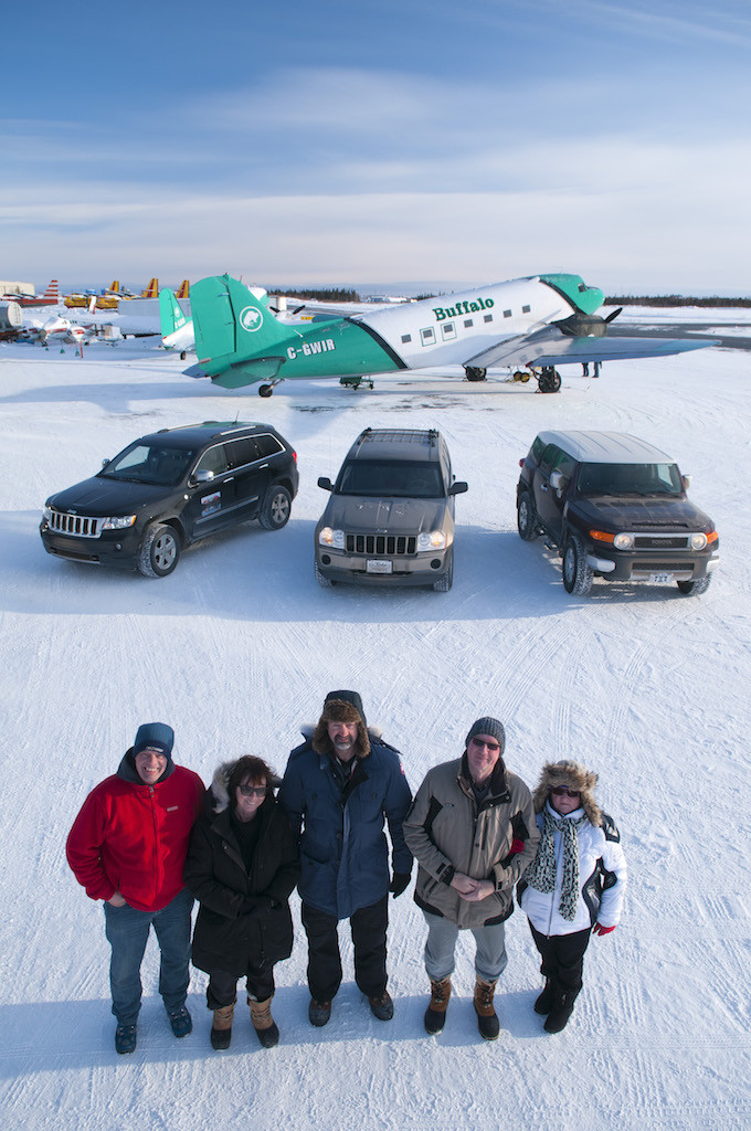The Ice Pilots of Buffalo Airways, Yellowknife, Northwest Territories, Canada